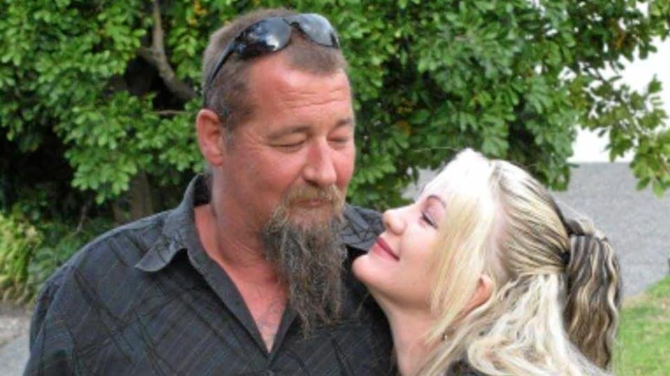 LUCKY IN LOVE: Danii Howard and her partner in life Jamie Falconer