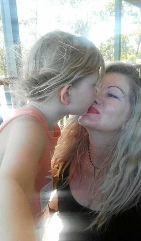 MUM'S THE WORD: Danii Howard and daughter Jaymie-Josephine Falconer.