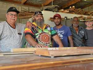 Cherbourg youth benefit from Men's Shed