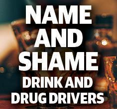 NAME AND SHAME: Drink and drug drivers convicted