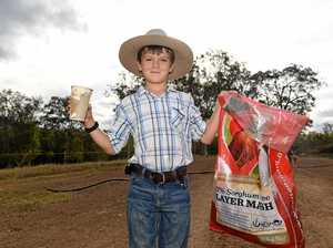 The Gympie boy with a strong message to all adults