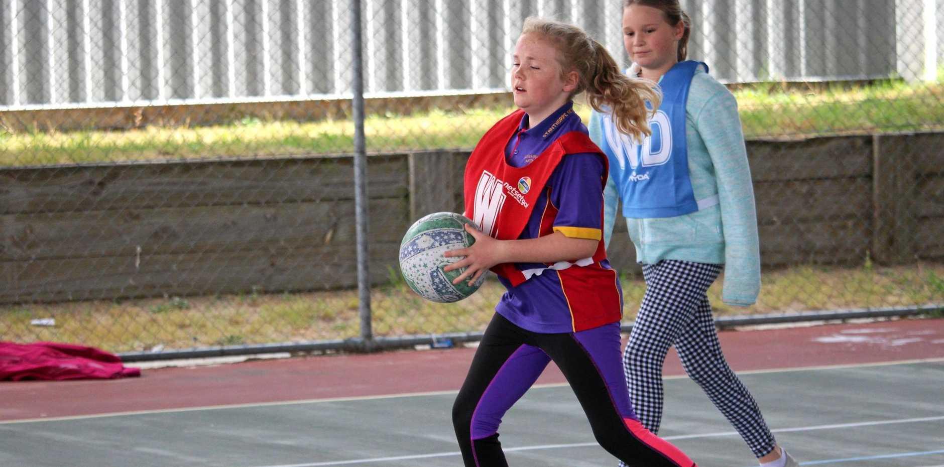 RETURN: Netball season starts with a training clinic.