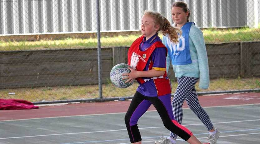 RETURN: Netball season starts with a training clinic.