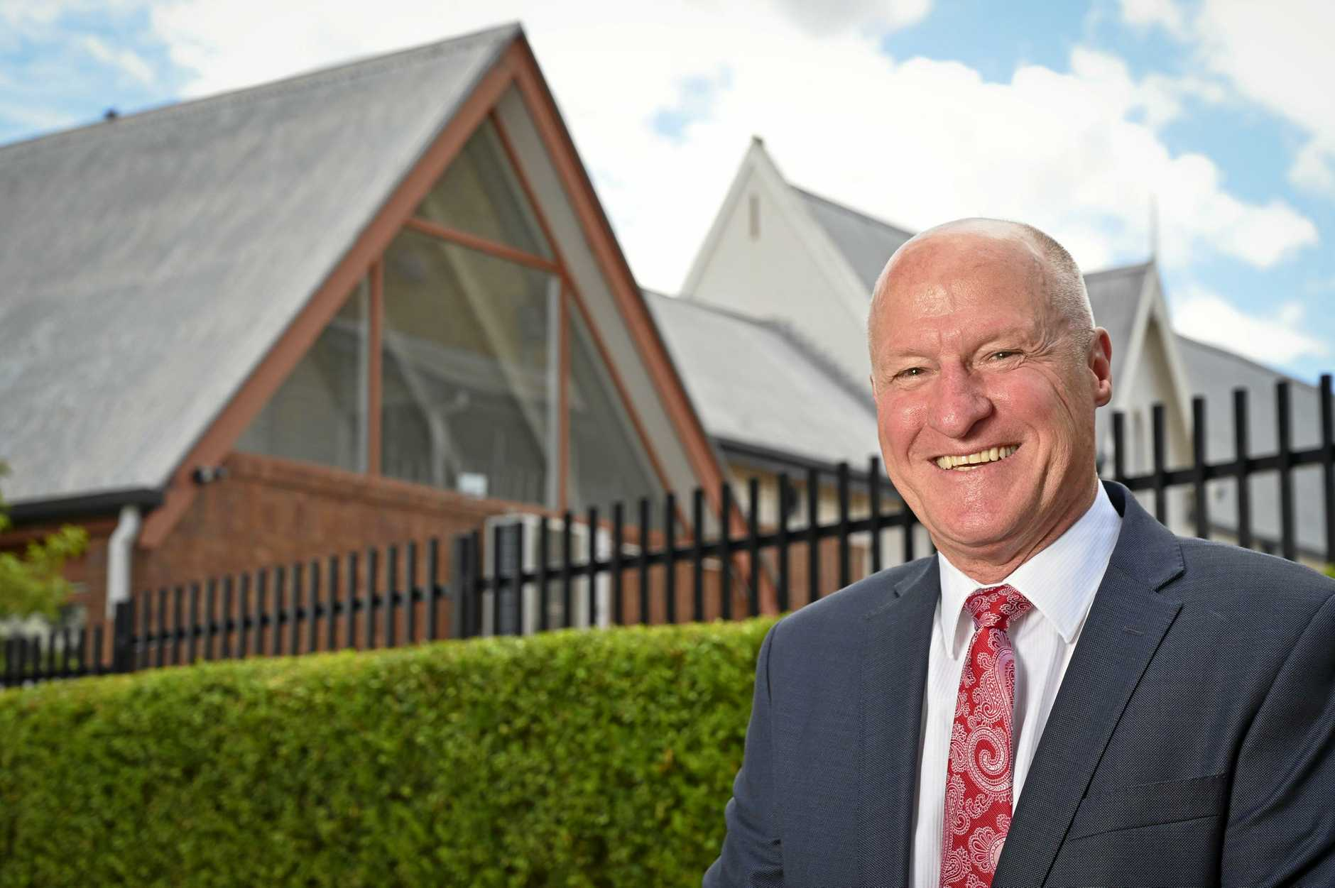 Richard Morrison, Headmaster/CEO of Ipswich Grammar School.