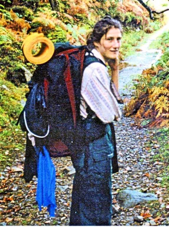 British backpacker Celena Bridge last seen in the Sunshine Coast hinterland in 1998.