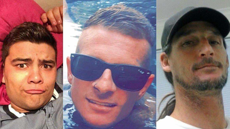 Joshua Leonard John Watson-Scully, Christopher William Gilliland, and Joel Ignacy Pilecki were sentenced on Friday, along with Paul Mark Evans.