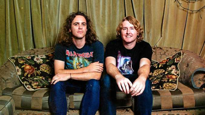 LIVE MUSIC: DZ Deathrays, made up of Shane Parsons (left) and Simon Ridley are coming to Toowoomba in March.