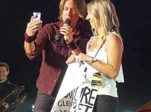 How cheeky hairdresser captured Keith Urban's attention
