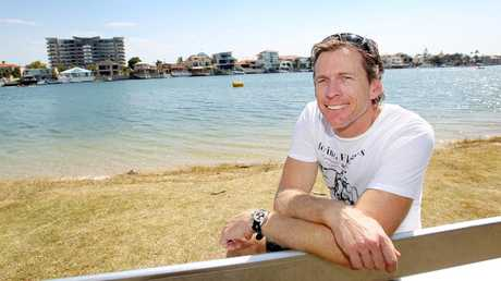 Duncan Free at the Paradise Rowing Reagatta.