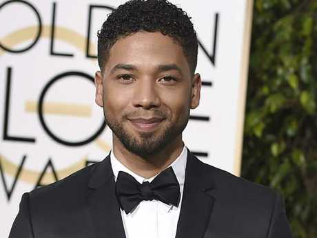 Actor and singer Jussie Smollett. Picture: AP