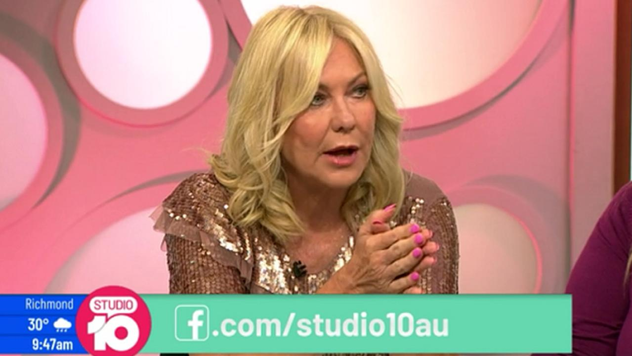 Kerri-Anne Kennerley takes on Yumi Stynes over Invasion Day protests. Picture: Studio 10