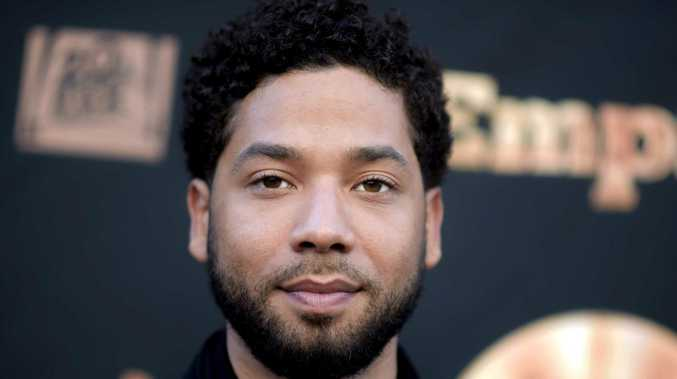 Jussie Smollett was attacked in an apparent hate crimes. Picture: AP