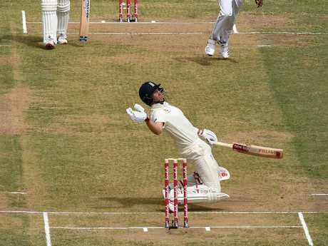 Joe Root just couldn't get out of the way.