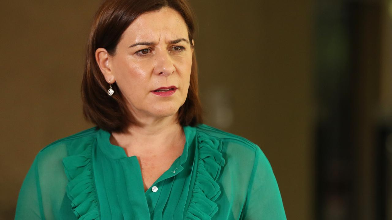 "Queensland Opposition Leader Deb Frecklington said she was ""appalled"" Jason Costigan thought it was appropriate to show pictures of the young woman involved in the ""disturbing incident. Photographer: Liam Kidston"