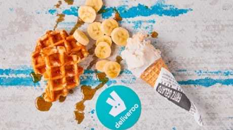 Deliveroo teams up with nine restaurant partners to offer a variety of unexpected breakfast inspired desserts.