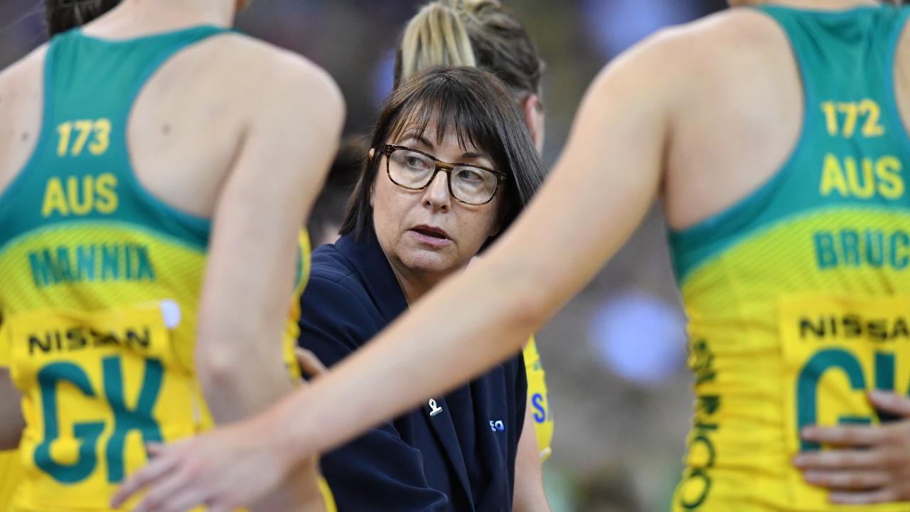 Australian coach Lisa Alexander. Picture: AAP