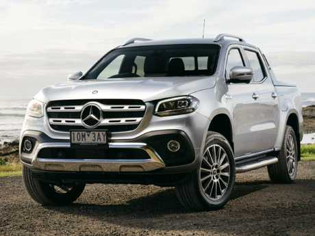 Photo of the 2019 Mercedes Benz X-Class V6 X350d