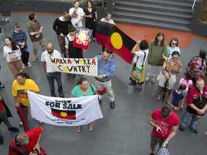 Hundred protest auction of 37 aboriginal housing homes