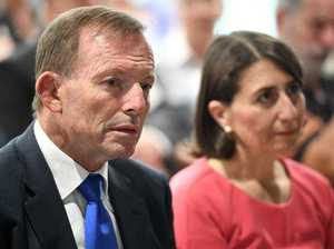 Abbott defends being VIP at China lobby event
