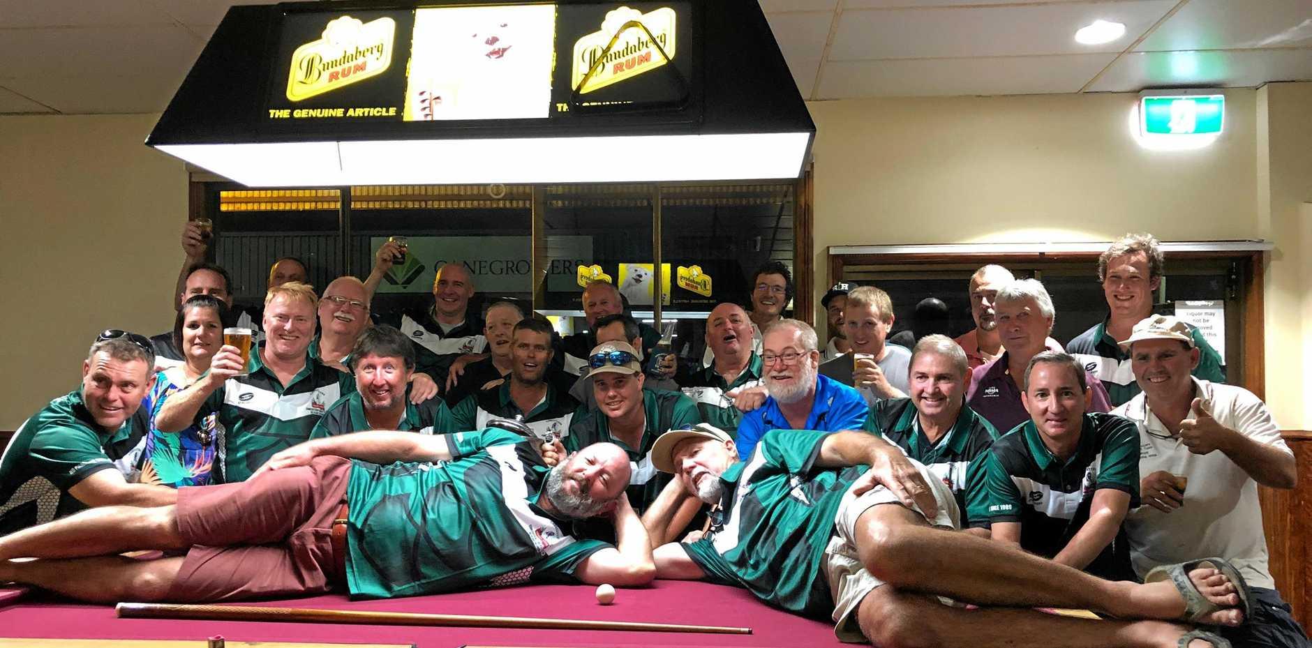 Canecutters Cricket Club team photo.