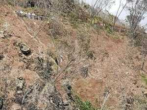 Dramatic rescue: man found dangling from cliff face
