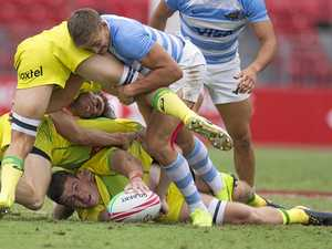 Aussie men's Sydney 7s title defence starts poorly