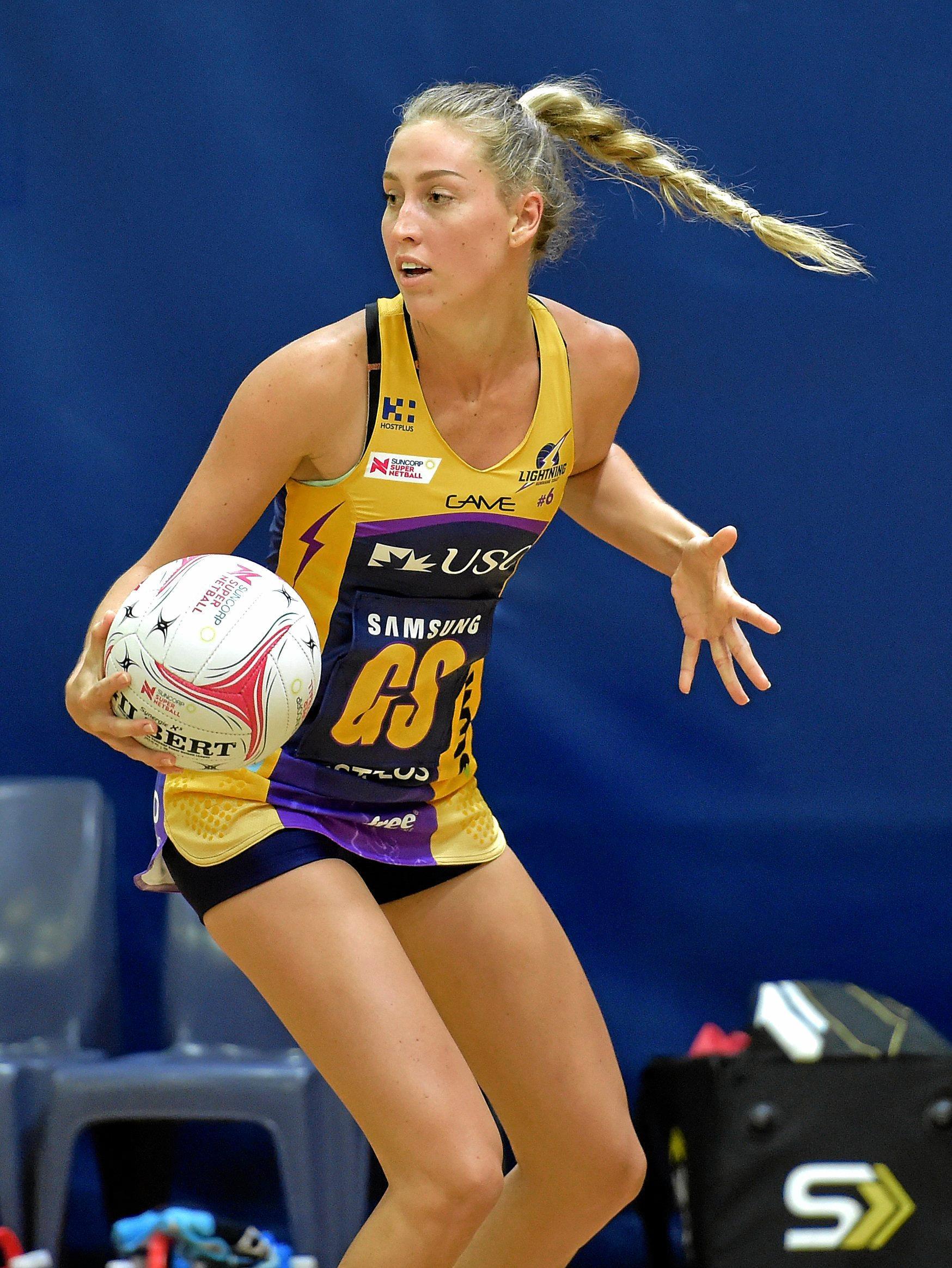 Sunshine Coast Lightning's Cara Koenen.