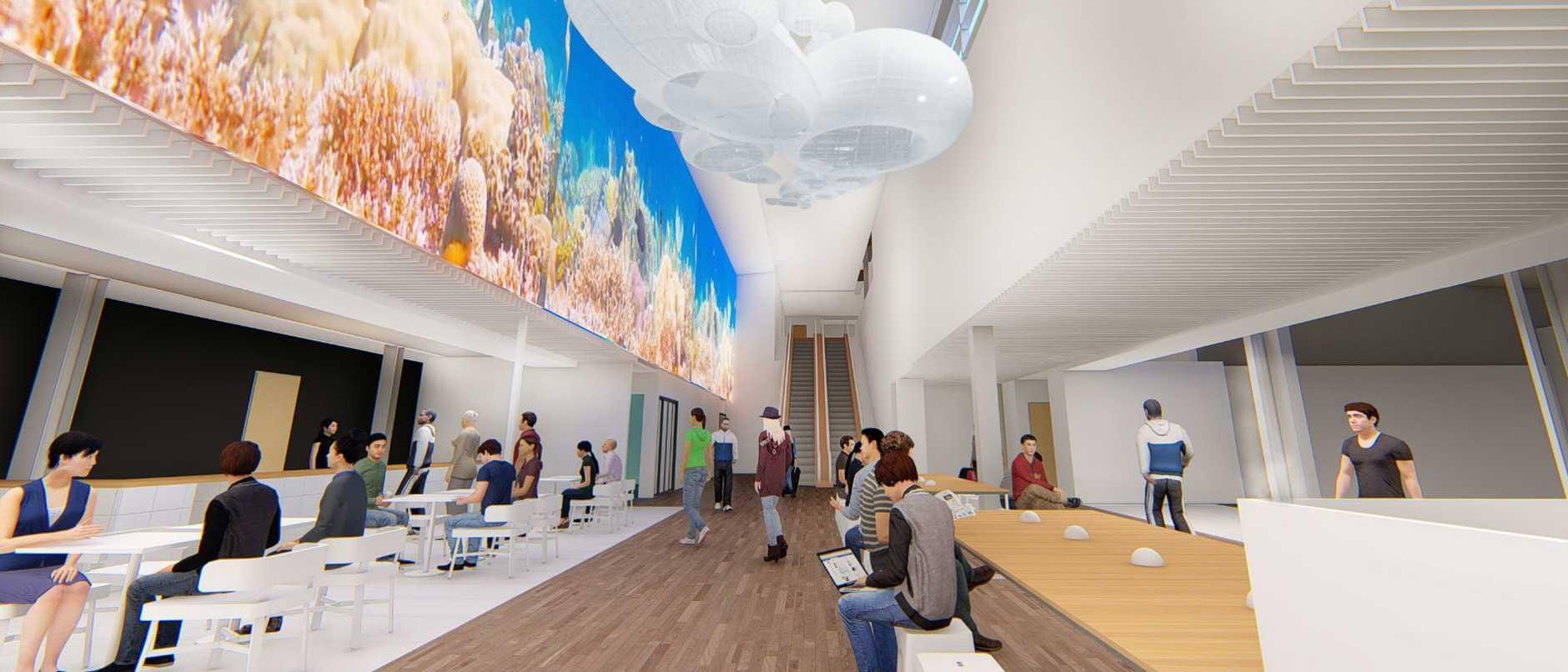 Cairns domestic airport terminal redevelopment design