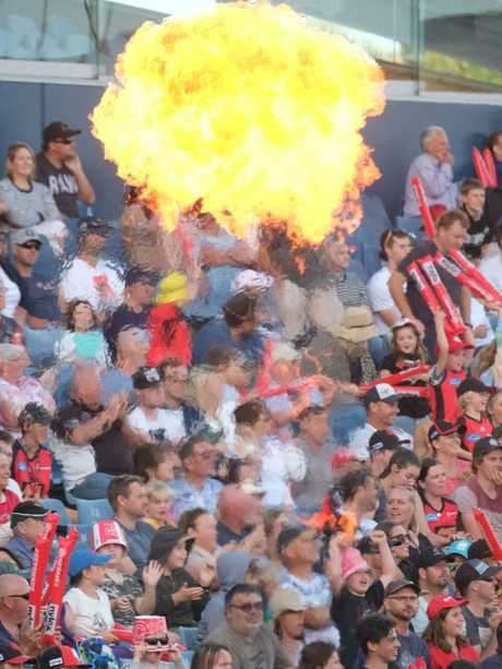 Crowd numbers are down at Big Bash games. Picture: Mark Wilson