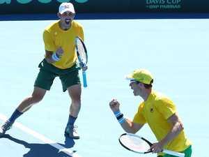 Davis Cup: Aussies claim finals berth