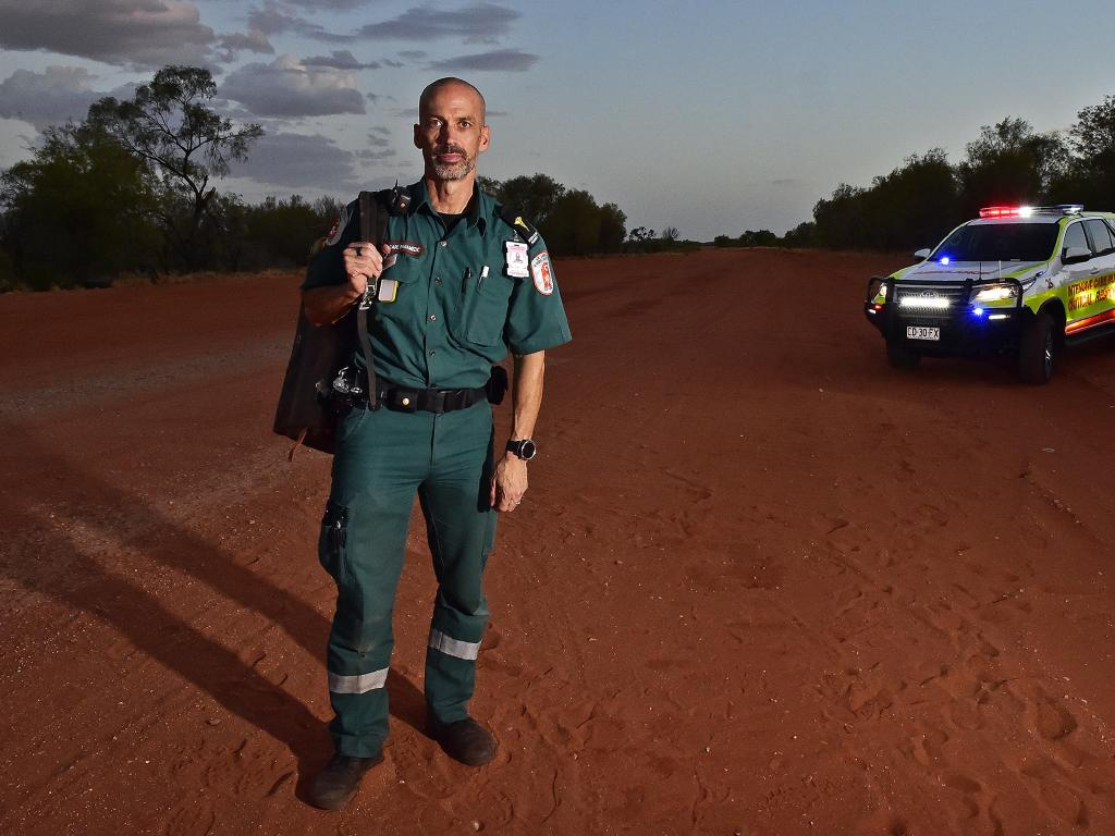 Paul Reeves now calls Alice Springs home. Picture: Chloe Erlich