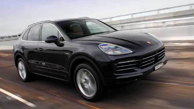 The Porsche Cayenne E Hybrid is fast, not sporty.
