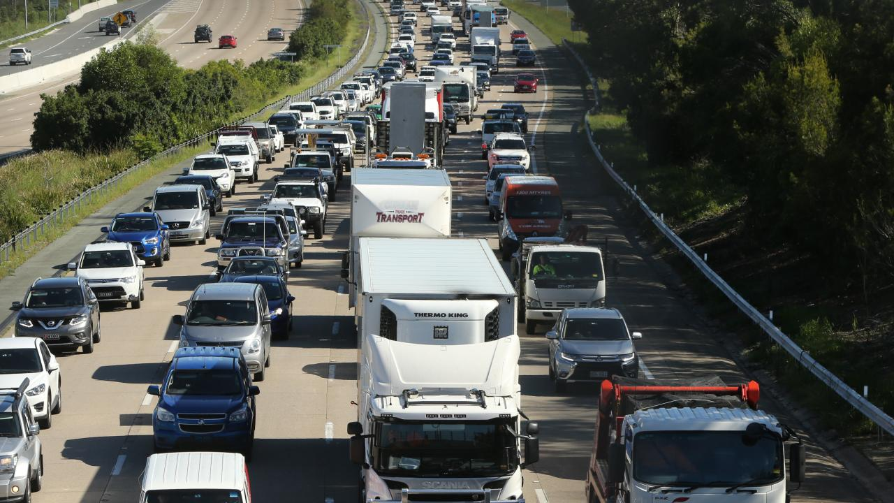 Traffic can be bad on the M1 Picture Glenn Hampson