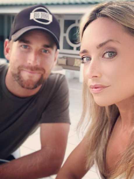 Claire Mottram, fiancee of English cricketer Dawid Malan. Picture: Instagram/@clairemottram