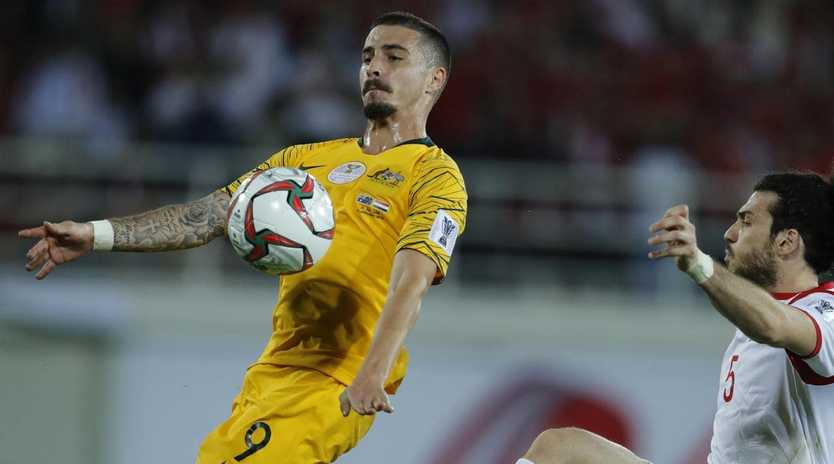 Jamie Maclaren signed for Melbourne City on deadline day. Picture: AP