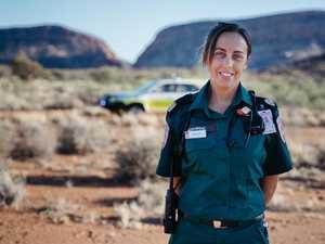 Meet dedicated Alice Springs paramedic Caitlin Little