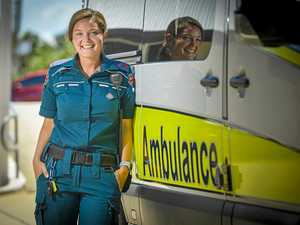 TOUGHEST DAY: Paramedics outnumbered by critical patients