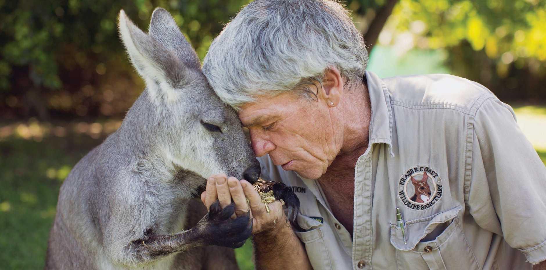 Fraser Coast Wildlife Sanctuary former manager Ray Revill.