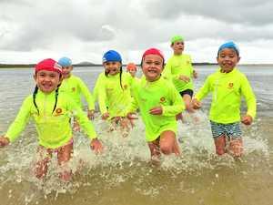 Next generation lifesavers take to the water