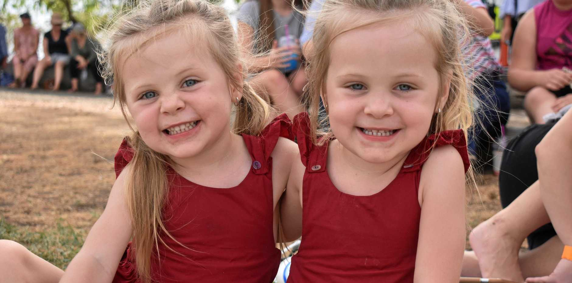 Charlotte and Brooklyn Maher from Roma
