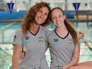 Young gun swimmer set to mimic mum's Olympic glory