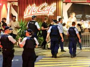 Man fighting for life after brawl in McDonald's car park