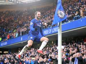 Blues in stunning bounce back, Liverpool's lead cut