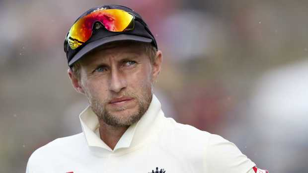 Joe Root looks on during the award ceremony after losing to West Indies by ten wickets. AP Photo/Ricardo Mazalan