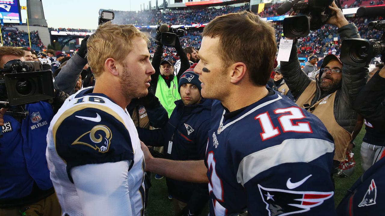 Goff vs Brady — Rams vs Patriots. It's all on the line in Super Bowl 53.
