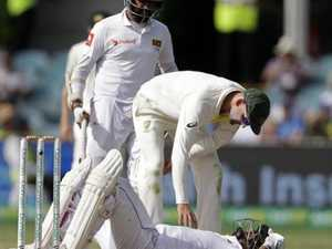 Starc demolishes Sri Lankan tail