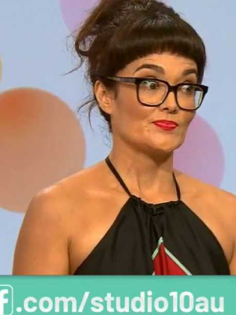 Yumi Stynes said her views were racist. They both became major targets for online abuse. Picture: Studio 10