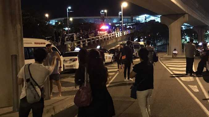 Bomb threat shuts Australia international airport