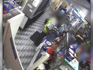 Armed robbery: United service station, Lower Dawson road