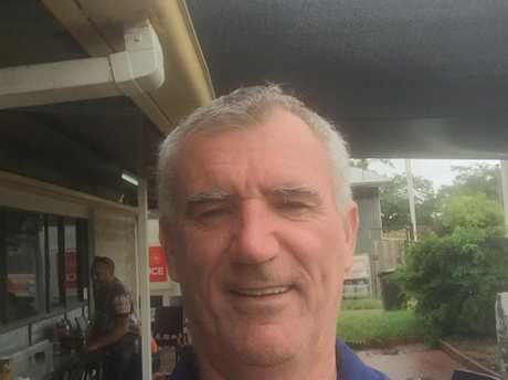 Dave Howett is stuck at the Charters Towers Puma.